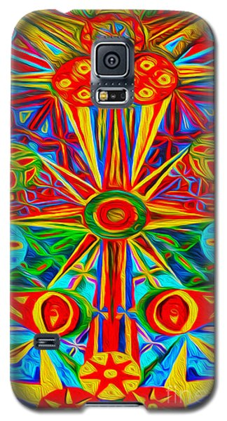 Abstract 02 Galaxy S5 Case by Gregory Dyer