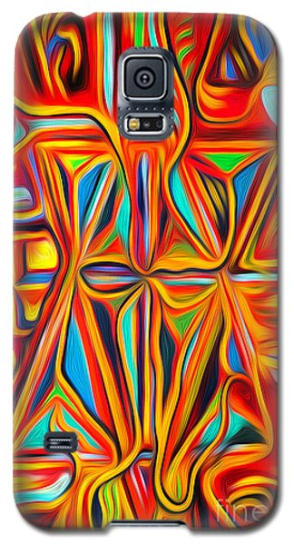 Abstract 03 Galaxy S5 Case by Gregory Dyer