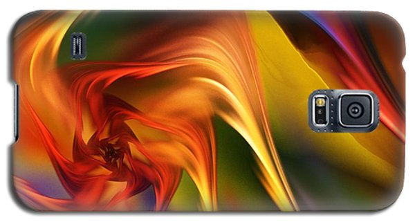 Galaxy S5 Case featuring the digital art Abstract 031814 by David Lane