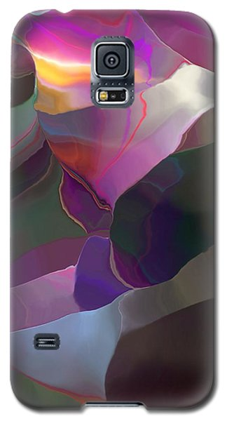 Galaxy S5 Case featuring the digital art Abstract 033014 by David Lane