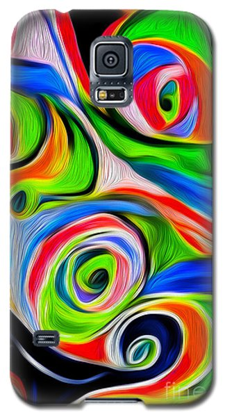 Abstract 04 Galaxy S5 Case by Gregory Dyer
