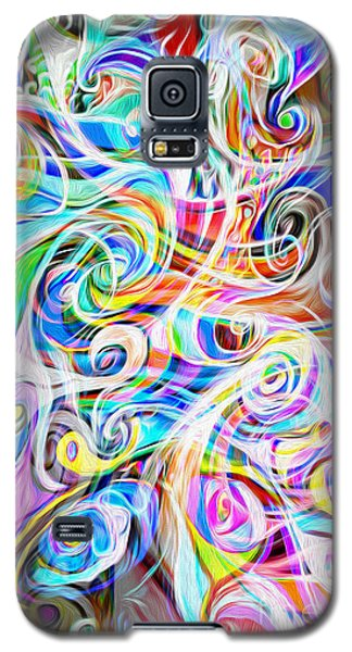Abstract 05 Galaxy S5 Case by Gregory Dyer