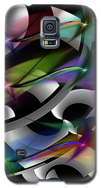 Galaxy S5 Case featuring the digital art Abstract 072514 by David Lane