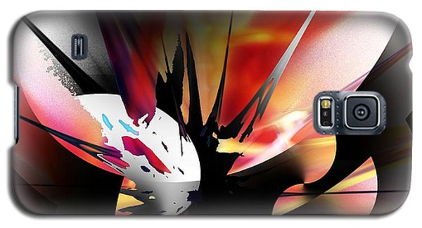 Galaxy S5 Case featuring the digital art Abstract 082214 by David Lane