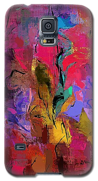 Galaxy S5 Case featuring the digital art Abstract 082313-1 by David Lane