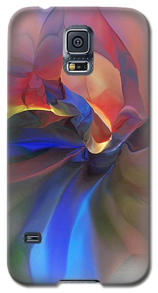 Galaxy S5 Case featuring the digital art Abstract 121214 by David Lane