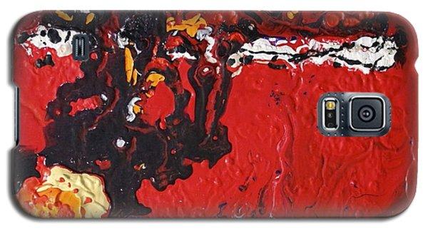 Abstract 13 - Dragons Galaxy S5 Case by Mario Perron