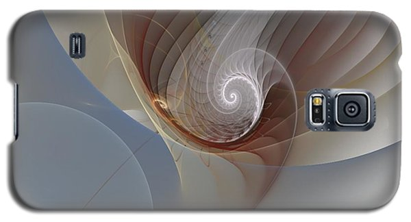 Abstract 195 Galaxy S5 Case by Linda Whiteside