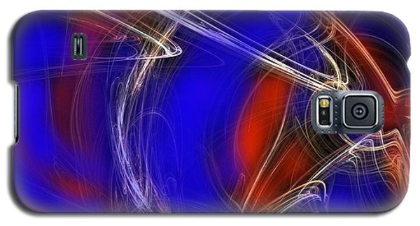 Galaxy S5 Case featuring the digital art Abstract 22 by Mary Armstrong