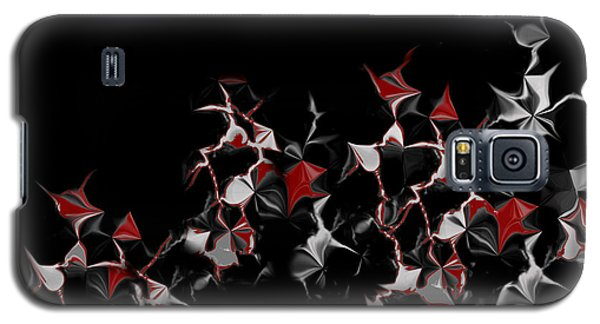 Galaxy S5 Case featuring the digital art Abstract 3 by Shabnam Nassir