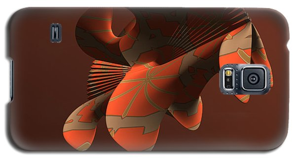 Abstract 351 Galaxy S5 Case