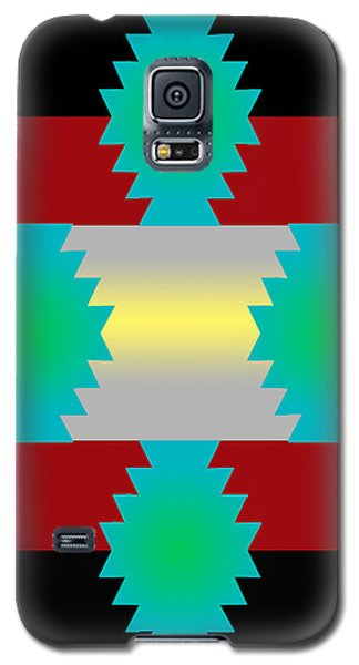 Galaxy S5 Case featuring the digital art Abstract 38a by Timothy Bulone