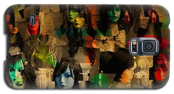Galaxy S5 Case featuring the photograph Abstract 39a by Timothy Bulone