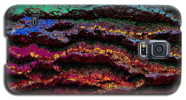 Galaxy S5 Case featuring the photograph Abstract 55a by Timothy Bulone