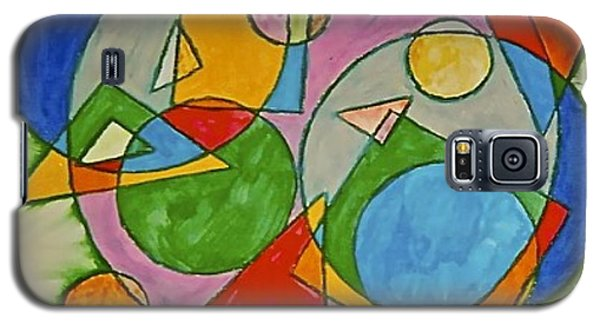 Abstract 89-001 Galaxy S5 Case