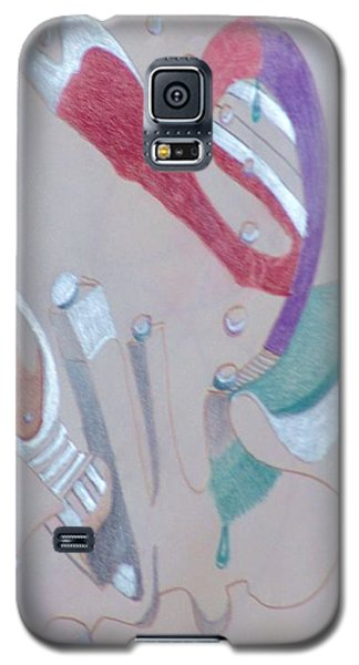 Abstract 9-12 Galaxy S5 Case by Rod Ismay