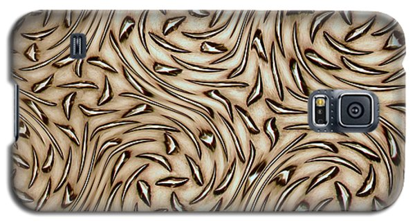 Abstract Aluminum Galaxy S5 Case by Bill Kesler