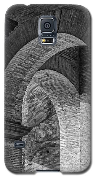 Abstract Arches Colosseum Mono Galaxy S5 Case