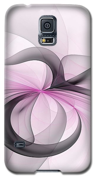 Abstract Art Fractal With Pink Galaxy S5 Case by Gabiw Art