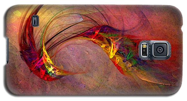 Abstract Art Print Hummingbird Galaxy S5 Case