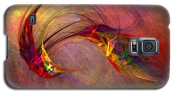 Abstract Art Print Hummingbird Galaxy S5 Case