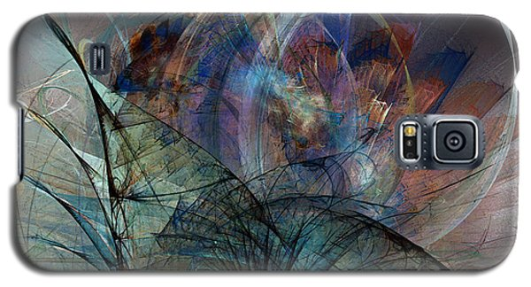 Abstract Art Print In The Mood Galaxy S5 Case