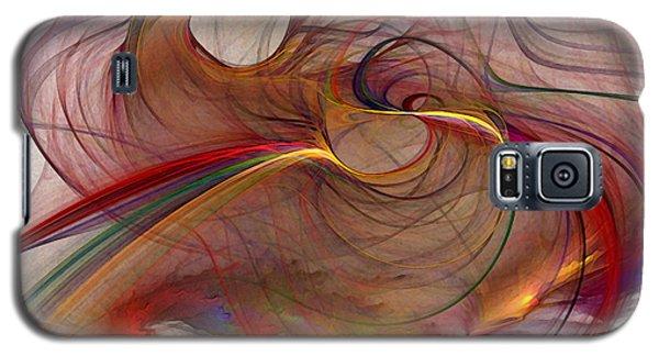 Abstract Art Print Inflammable Matter Galaxy S5 Case