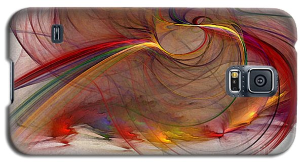 Abstract Art Print Inflammable Matter Galaxy S5 Case