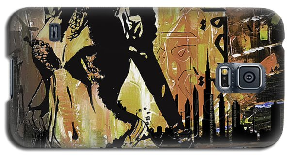 Abstract Belly Dancer 14 Galaxy S5 Case
