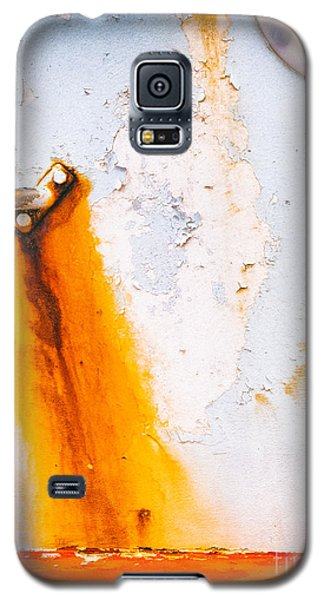 Galaxy S5 Case featuring the photograph Abstract Boat Detail by Silvia Ganora