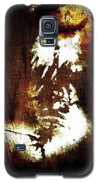 Galaxy S5 Case featuring the digital art Abstract Body by Andrea Barbieri