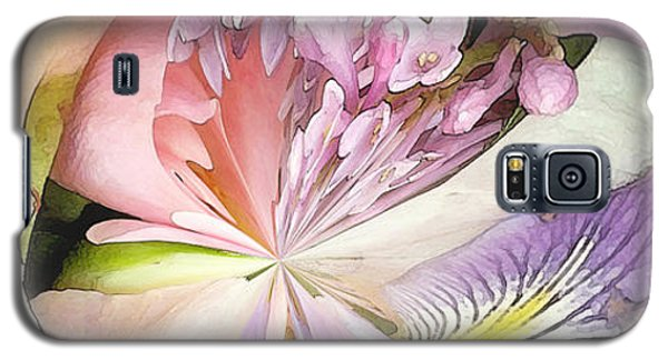 Abstract Bouquet Galaxy S5 Case