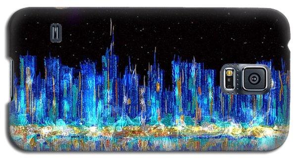 Abstract City Skyline Galaxy S5 Case