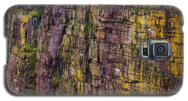 Abstract Cliffs Galaxy S5 Case