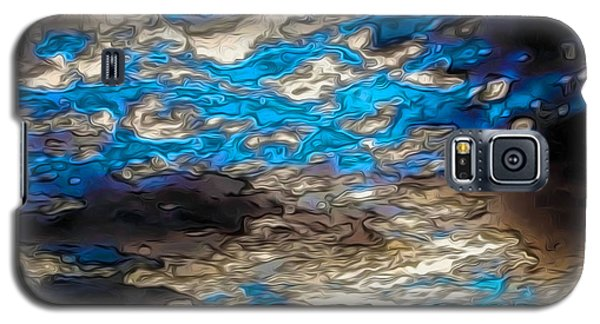 Abstract Clouds Galaxy S5 Case