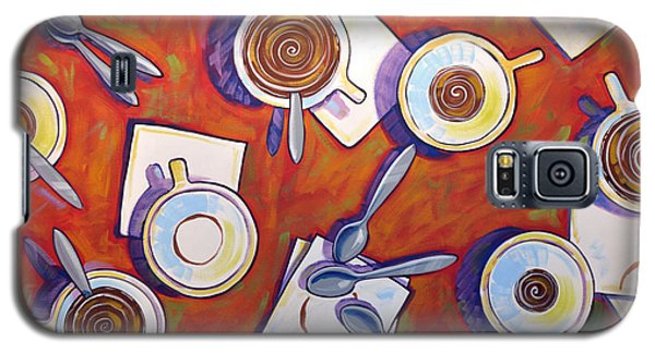 Abstract Coffee Art ... The Get Together Galaxy S5 Case