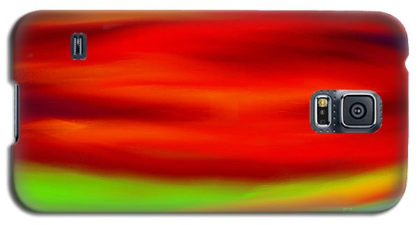 Abstract Colors Galaxy S5 Case