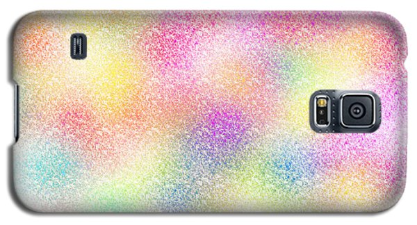 Abstract Colourful Crayons Galaxy S5 Case