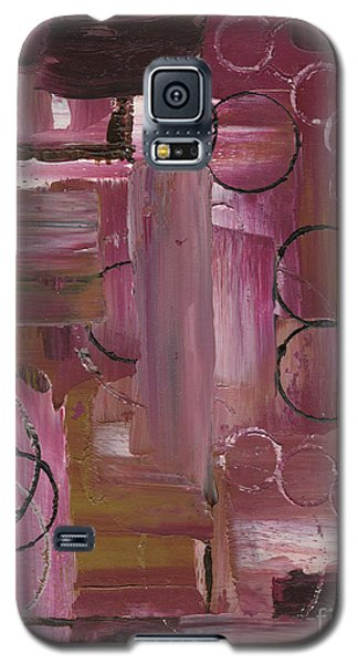 Abstract Connection Three Galaxy S5 Case by J L Zarek