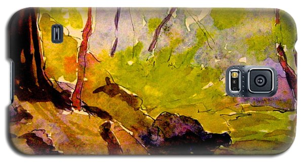 Abstract Creek In Woods Galaxy S5 Case