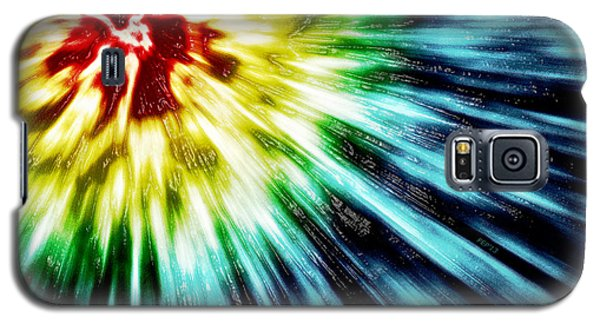 Abstract Dark Tie Dye Galaxy S5 Case by Phil Perkins