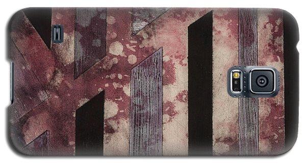 Abstract Design Galaxy S5 Case by Carolyn Repka