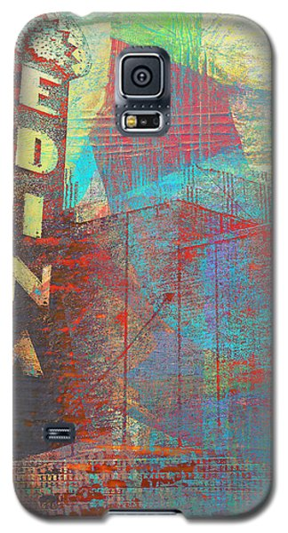 Abstract Edina Galaxy S5 Case by Susan Stone