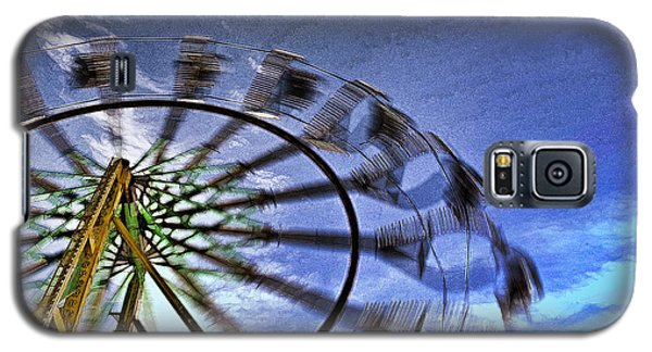 Galaxy S5 Case featuring the photograph Abstract Ferris Wheel by Linda Blair