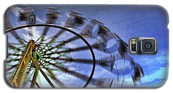 Abstract Ferris Wheel Galaxy S5 Case by Linda Blair