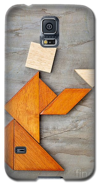 Abstract Figure Offering Tea Galaxy S5 Case