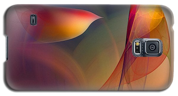 Abstract Fine Art Print Early In The Morning Galaxy S5 Case