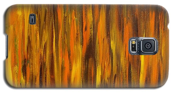Abstract Fireside Galaxy S5 Case
