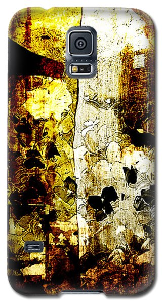 Abstract Flowers Galaxy S5 Case by Andrea Barbieri
