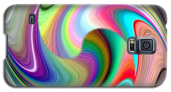Abstract Fusion 241 Galaxy S5 Case